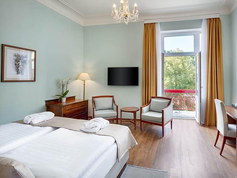 02. Dvoulůžkový pokoj Premium hotel Hvězda=Doppelzimmer Premium Hotel Hvězda
