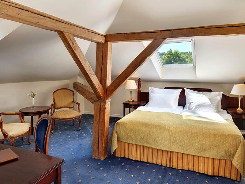 02. Dvoulůžkový pokoj Standard hotel Villa Patriot=Doppelzimmer Standard Hotel Villa Patriot